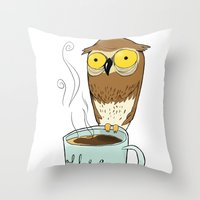Can't Sleep? Throw Pillow