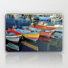 Puerto Mogan Boats Laptop & iPad Skin