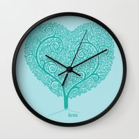 Love Growing Wall Clock