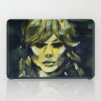 THE YELLOW QUICK PORTRAIT iPad Case