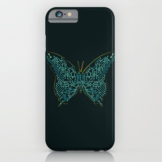 Mechanical Butterfly iPhone & iPod Case