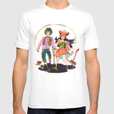 LSD love White Mens Fitted Tee SMALL