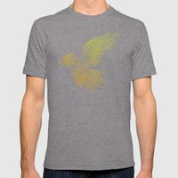 Karearea Mens Fitted Tee Tri-Grey SMALL
