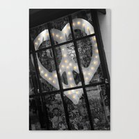 Peace & Love NYC Canvas Print