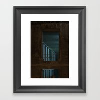 Architecture De Nuit #1 Framed Art Print