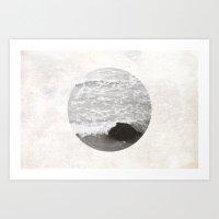 海(ocean) Art Print