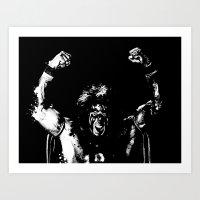 Warrior!!! Art Print