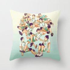 Aobajousai Throw Pillow