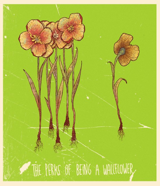 The Perks Of Being A Wallflower - Movie Poster Art Print