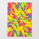 Bubble Gum Explosion Canvas Print