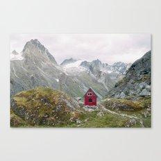 Mint Hut Canvas Print