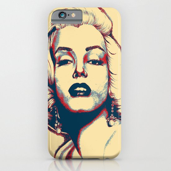 Hope Monroe iPhone & iPod Case