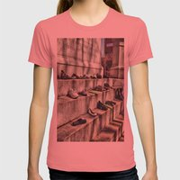 making a statement Womens Fitted Tee Pomegranate SMALL