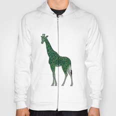 Giraffe is for Green Hoody