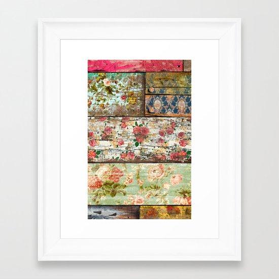 Lady Rococo Framed Art Print