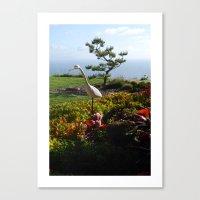 Master Of The Garden  Canvas Print
