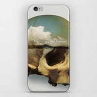 Memories Live Forever iPhone & iPod Skin