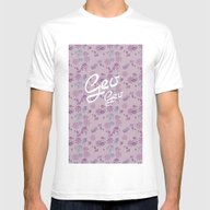 T-shirt featuring S Floral Print01 by NENE W