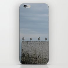 Never A Wall Flower iPhone & iPod Skin