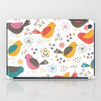 Quirky Chicks iPad Case