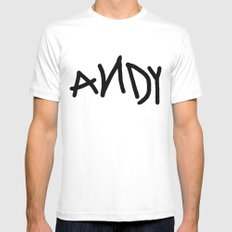 Andy White SMALL Mens Fitted Tee