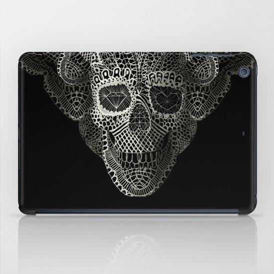 Lace Skull iPad Case