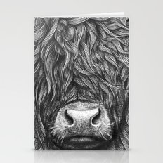 Highland Cattle Stationery Cards