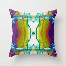 Monadic Determination Throw Pillow