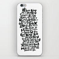 One Ring  iPhone & iPod Skin