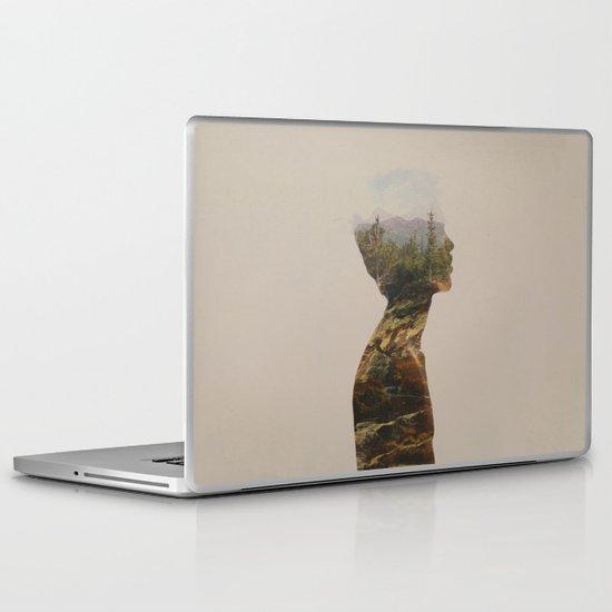 Side by Side Laptop & iPad Skin