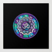 UROCK! Independence Mandala Canvas Print