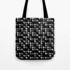 Toothless Black and White Tote Bag
