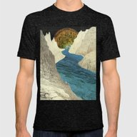Exploration A Mens Fitted Tee Tri-Black SMALL