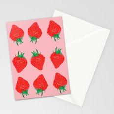 Strawberry Motif, 2013. Stationery Cards