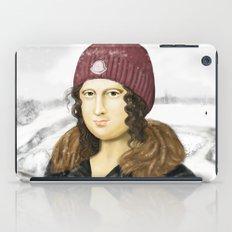 Mona Lisa in winter iPad Case