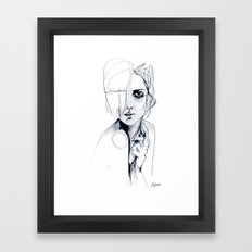 Sketch V Framed Art Print