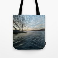 Lost in the Waves Tote Bag