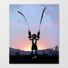 Punisher Kid Canvas Print