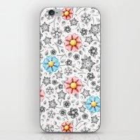 Millefiori Monotone iPhone & iPod Skin