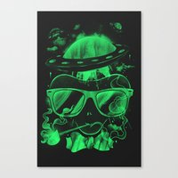 Hipster Invasion Canvas Print