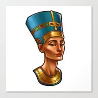 Nefertiti's Quest : Nefe… Canvas Print