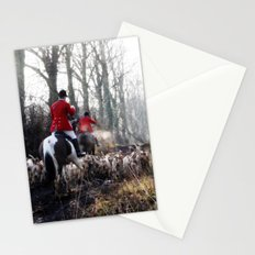Red Coats. Stationery Cards