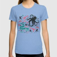 Sea Patrol Womens Fitted Tee Tri-Blue SMALL