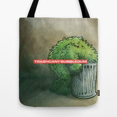 Trashcan : Bubblegum Tote Bag
