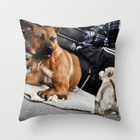 vs Throw Pillow