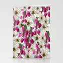 Spring Blossoms Abstract  Stationery Cards