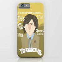 iPhone & iPod Case featuring why watch (bored to death) by christopher-james robert warrington