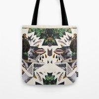 AYAHUASCA CAT (Kaleidosc… Tote Bag