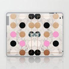 Rose Gold Dots Laptop & iPad Skin