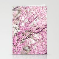 Purple Bud Stationery Cards